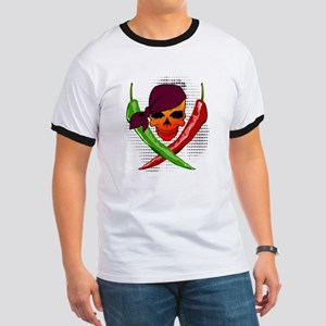 Pepper Pirate Ringer T